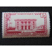 Французская. Мартиника 1933 г