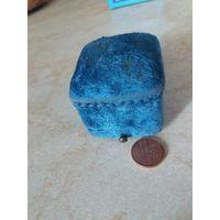 Шкатулка коробка для кольца старая