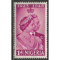Нигерия. Король Георг VI и королева Елизавета. 1948г. Mi#64.