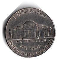 США. 5 центов. 1998 P