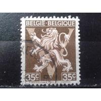 Бельгия 1944 Герб, лев. Победа, освобождение страны от оккупации