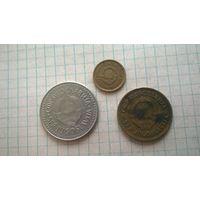 Югославия набор монет
