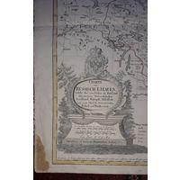 Карта старинная.100 процентов оригинал.1775 Русская Литва.