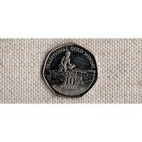 Гайана 10 долларов 2007(Uss)