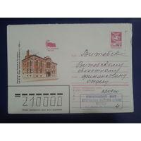 1984 хмк Петербург, дом Паниной, по Ленинским местам
