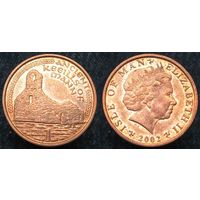 W: Остров Мэн 1 пенни 2002 (651)