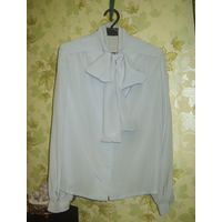 Стильная блузка из натурального шёлка р.46-48