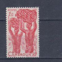 [2417] Французские колонии.Камерун 1946. Культура и быт.Сбор бананов. MH
