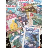 Журнал рыболов 13 штук