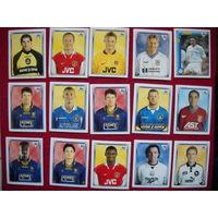 Наклейки Английская премьер лига 1998. Цена за одну наклейку.