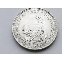 KM# 52 5 SHILLINGS 28.2800 g., 0.5000 Silver 0.4546 oz. ASW, 38.8 mm.