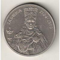 Польша 100 злотый 1988 Королева Ядвига