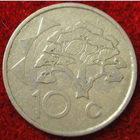 7551:  10 центов 1993 Намибия
