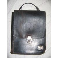 РАСПРОДАЖА! Старый офицерский планшет планшетка полевая сумка