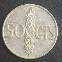 Испания, 50 сентимос 1966 (67)