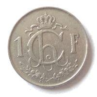 Люксембург, 1 франк 1952 г.