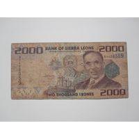2000 Леоне 2010 (Сьерра-Леоне)