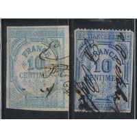 Франция Налоговые 1876 Сбор за выбросы #1,3
