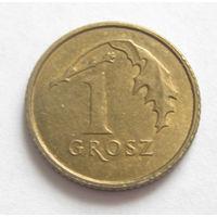 Польша 1 грош 2013 старый тип
