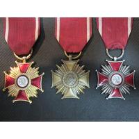 Крест заслуги 1,2,3-го класса.Польша.PRL.