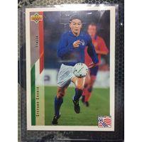 Карточка игрока - Stefano Eranio UPPER DECK 1994