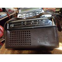 Радиоприемник Selga 402 в кожаном чехле
