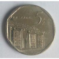 Куба 5 центов 1996