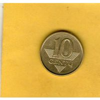 Литва 10 центов 2009
