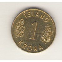 1 крона 1975 г.
