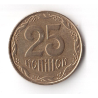 25 копеек 2011 год Украина