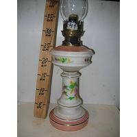 Лампа керосиновая ручная раскраска