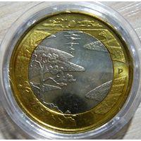 "5 евро 2013 г. Финляндия. ""Северная природа, Зима"""