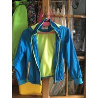 Куртка- ветровка р. 110-122