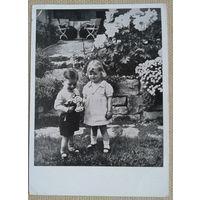 Мальчики девочка. Дети. Германия. 1950-60 е. Чистая