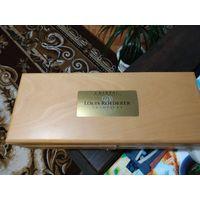 Коробка из под шампанского КРИСТАЛ дерево идеальная обработка оригинал
