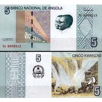Ангола  5 кванза 2012 год  UNC