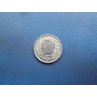 1\2 франка 2000 швейцария
