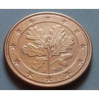 5 евроцентов, Германия 2002 A, AU