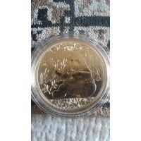 Сувенирная монета панда