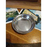 Лот с рубля - 180 Блюдце Подставка Для Вина Серебрение Клейма Без минимальной цены Большой Аукцион!