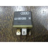 101544 Audi 80/100 реле 204 - 431951253 H