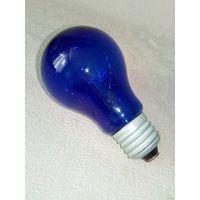 Синяя лампа СССР для рефлектора Минина лампочка ультрафиолет