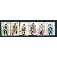 Того - 1997 - Военная форма - [Mi. 2551-2556] - полная серия - 6 марок. MNH.