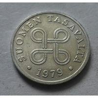 1 пенни, Финляндия 1979 г.