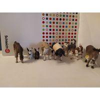 Фигурки  животных Schleich(Шляйх,Германия)одним лотом