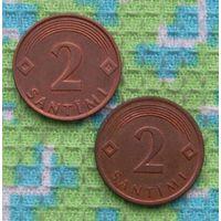 Латвия 2 цента. Инвестируй выгодно в монеты планеты!