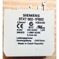 3TX7002-1FB02 Соединительное реле. Выходной соединительный модуль, согласующий релейный соединитель. Контактор. Siemens. 3TX7 002-1FB02