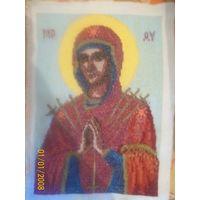 Явление иконы Божией Матери (Жировицкая), Иисус,Мадонна с младенцем,Семистрельная