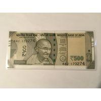Индия 500 рупий 2020 год пресс