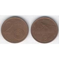 2 евроцента, Словакия 2011 г.,